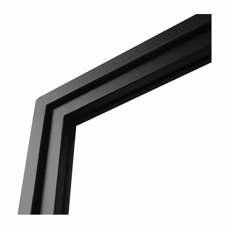 Les profils de notre porte atelier coulissante sont en acier soudés