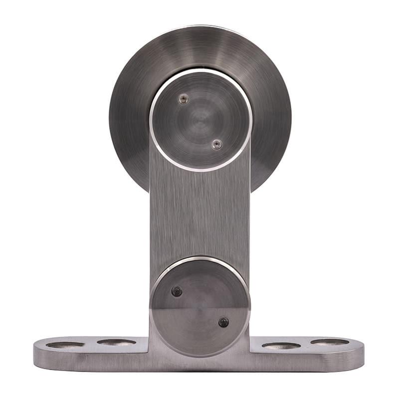 Roulette porte coulissante en inox Soho 1 de face
